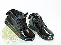 Ботинки кожаные демисезонные на девочку. Размеры 29,30,31,35