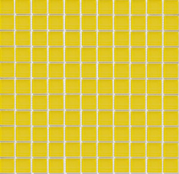 Мозаика прозрачное стекло Vivacer одноцвет 2,5*2,5 B047