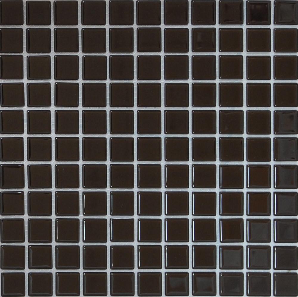 Мозаика прозрачное стекло Vivacer одноцвет 2,5*2,5 B050