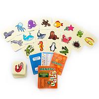 ВОДНЫЙ МИР - Развивающая настольная игра для детей от 1 года