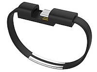 Кабель-браслет для смартфонов Type-C Type-C Черный