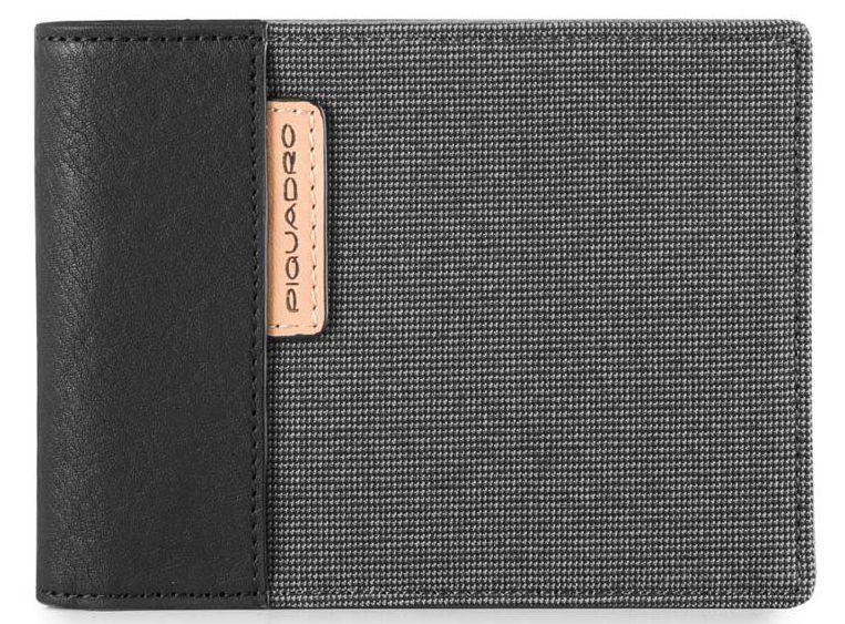 Женский кошелек кожаный Piquadro BLADE PU1241BL_GR, серый