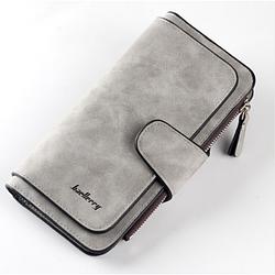 Жіночий гаманець клатч портмоне Baellerry Forever N2345 сірий