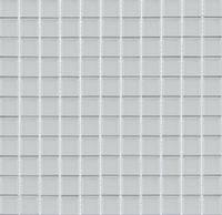Мозаика прозрачное стекло Vivacer одноцвет 2,5*2,5 B080