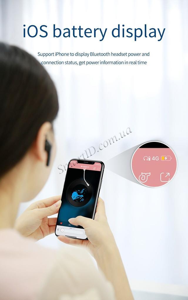 Bluetooth гарнитура Baseus Mini Magnetic Headset NGCX-01/NGCX-03 Черная/Синяя