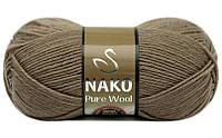Nako Pure Wool кофе с молоком № 257
