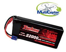 Литий-полимерная аккумуляторная батарея TYPHON LIPO BATTERY 22000mAh   6S   20C
