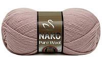Nako Pure Wool светло-розовый № 318
