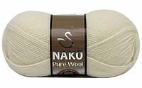Nako Pure Wool ваниль № 2378