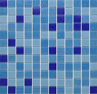 Мозаика стеклянная Vivacer микс 2,5*2,5 GLmix2
