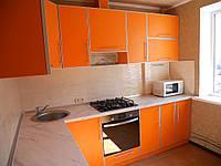 Кухня в алюминиевой рамке, фото 1