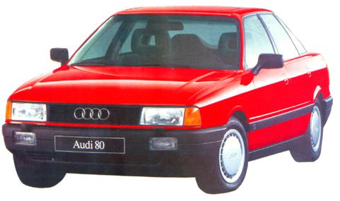Книги по ремонту Audi 80/90