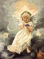 "Картина по номерам. Brushme ""Ангелочек на небе"" GX21472"