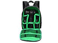 Водонепроницаемый рюкзак для зеркального фотоаппарата Tigernu  Зелений