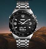 Skmei Чоловічі годинники Skmei Kompass PRO ударостійкі, фото 2