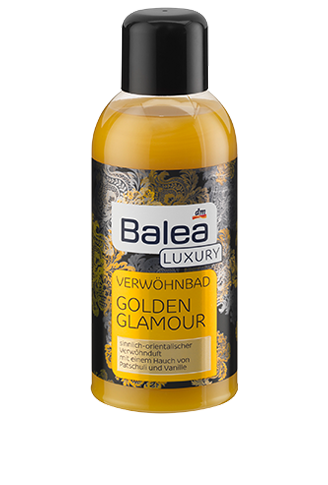 Роскошная пена для ванны Balea Luxury Golden Glamour