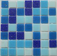 Мозаика стеклянная Vivacer микс 2*2 GLmix12