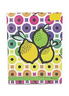 "Папка ""Лимоны"" А4 Penny 34х25см Зеленый, Желтый, Фиолетовый"