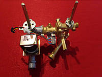 Гидроблок в сборе  подсоединение к теплообменнику резьба, фланец подсоединения к газовому блоку 42 мм