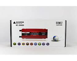 Преобразователь тока AC/DC UKC 2000W KC-2000D с LCD дисплеем автоинвентор