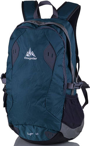 Оригинальный, городской рюкзак 25 л. Onepolar W1755-green зеленый