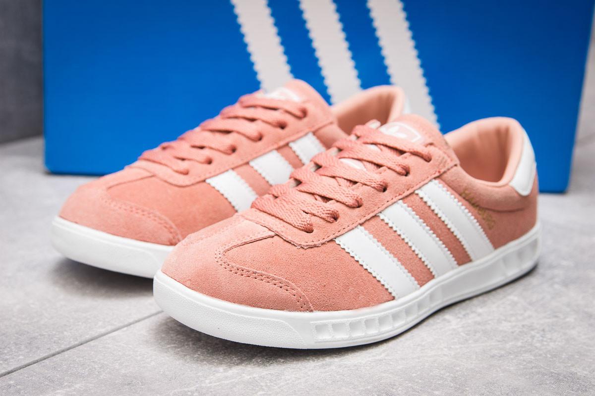 4f220335 Кроссовки женские Adidas Hamburg, розовые (13853), [ 39 (последняя пара)
