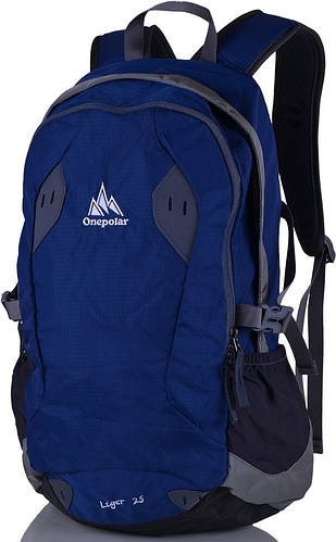 Женский стильный городской рюкзак 25 л. Onepolar W1755-navy синий