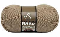 Nako Pure Wool пшенично-бежевий № 4459