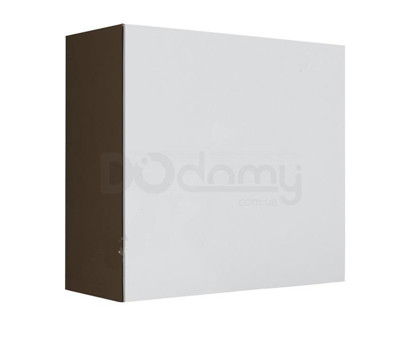 Витрина квадрат VIGO CAMA Латте матовый / Белый глянец