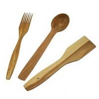 Набор (лопатка,ложки,вилка)