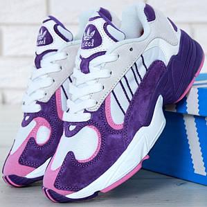 Женские кроссовки Adidas Yung-1 Violet/White