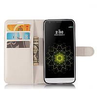 Чехол-книжка Litchie Wallet для LG G6 Белый
