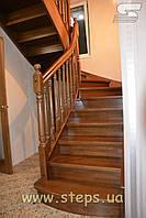 Дерев'яні Сходи - Проектування, виготовлення, монтаж