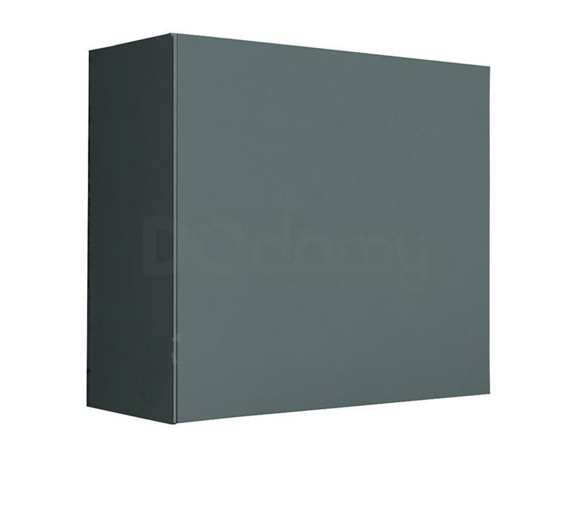 Витрина квадрат VIGO CAMA Серый матовый / Серый глянец