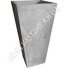 Вазон бетонный хай-тек «Литл-Рок» садовый