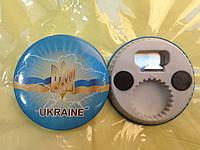 Магнит-открывашка символ Украины - Тризуб