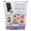 Зеркало для макияжа с подсветкой БЕЛОЕ Led mirror ставни + ПОДАРОК: Настенный Фонарик с регулятором BL-8772A, фото 4