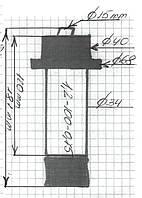 Ремкомплект для шнекового насоса (шнек 1.2-100-0.75)