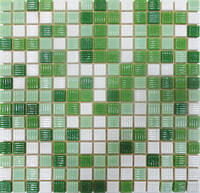 Мозаика стеклянная Vivacer микс 2*2 GLmix32