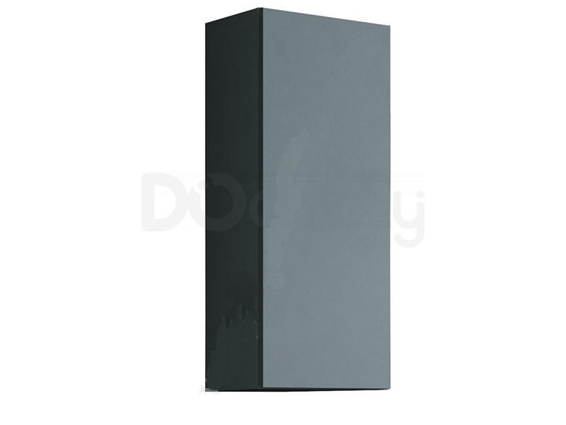 Пенал навесной малый VIGO CAMA Серый матовый / Серый глянец