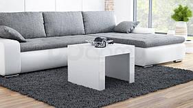 Журнальный столик TESS 60 CAMA Белый матовый / Белый глянец