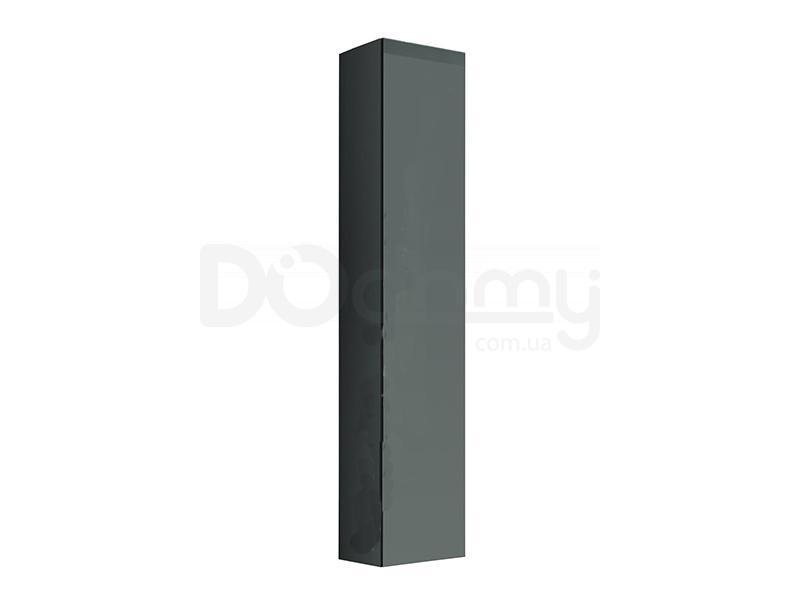 Пенал навесной VIGO CAMA Серый матовый / Серый глянец