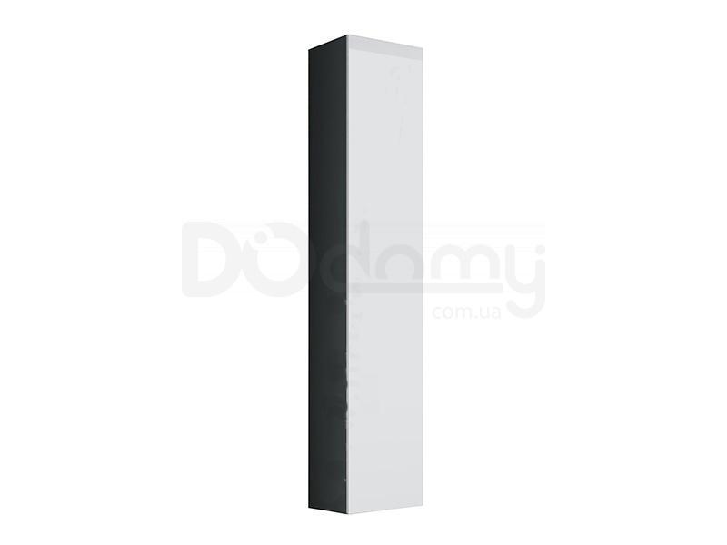 Пенал навесной VIGO CAMA Серый матовый / Белый глянец