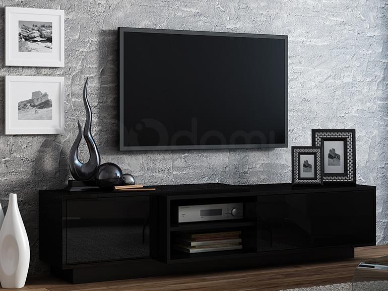 Тумба ТВ SIGMA 1E с цоколем CAMA Черный / Черный