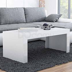 Журнальный столик TESS CAMA Белый матовый / Белый глянец