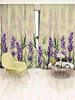 Фотоштора Walldeco Фиолетовые цветы (29445_1_1)