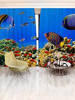 Фотошторы с морем (3052_1_1)