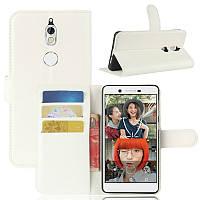 Чехол-книжка Litchie Wallet для Nokia 7 Белый