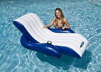 Пляжное надувное кресло для воды Intex (180х135 см.)