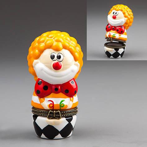 "Шкатулочка ""Клоун"" 8см (014E), фото 2"